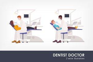 Dentist illustrations