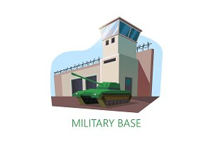 American or USA military base