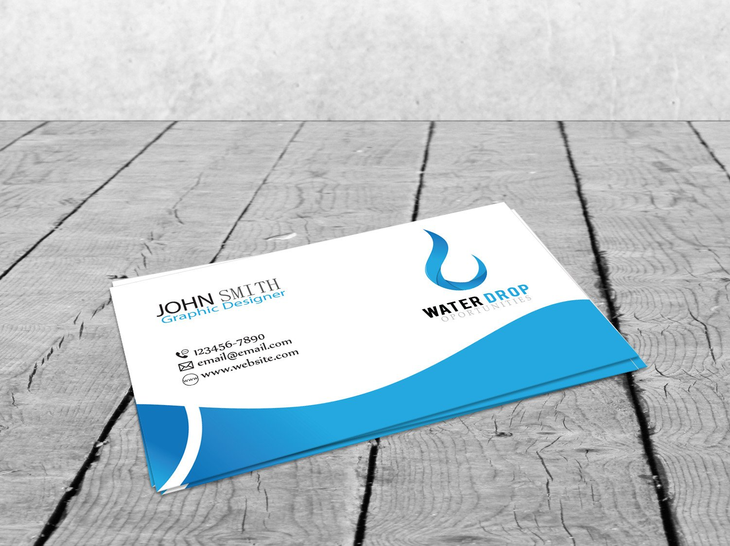 Corporate business card card templates creative market magicingreecefo Image collections