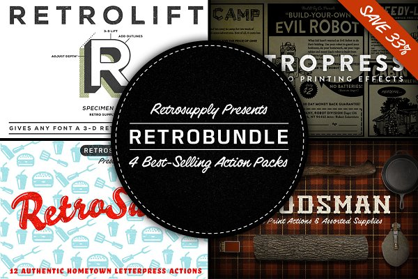 RetroBundle - 4 Best-Selling Action…