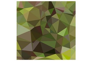 Pistachio Green Abstract Low Polygon