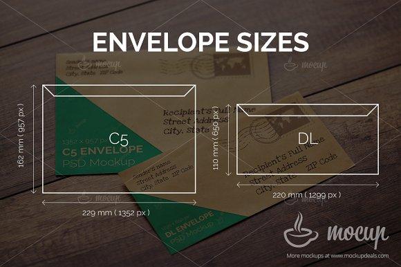 5 psd envelope mockup templates product mockups creative market