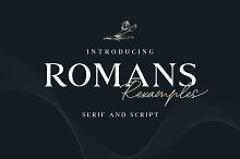 ROMANS Rexamples Font Duo