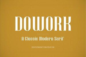 Dowork Decorative Serif