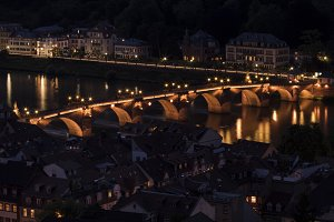Old Bridge at night