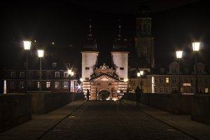 Heidelberg's Old City Bridge