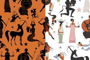 Greek Zodiac: Patterns