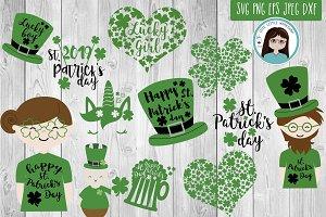 St. Patrick's bundle SVG DXF PNG EPS