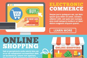 Ecommerce & Online Shopping Concepts