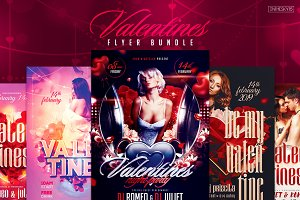 Valentines Flyer Bundle