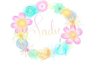 Sadie hawaiian watercolors