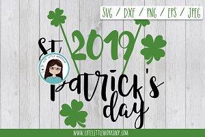 St. Patrick 2019 SVG DXF