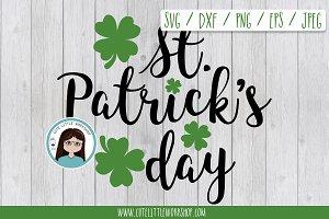 St. Patrick SVG DXF