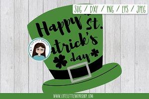 St. Patrick hat SVG DXF