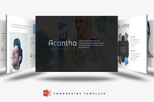 Acantha - Powerpoint Template