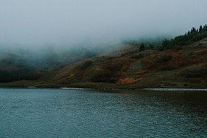 Foggy Lake View