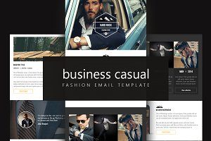 Business Casual Email Template