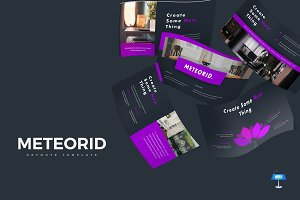 Meteorid - Keynote Template