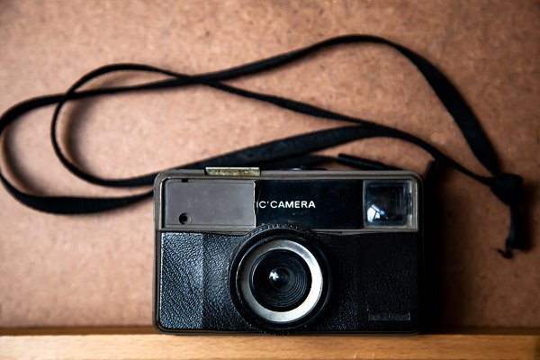 Technology Stock Photos - old camera