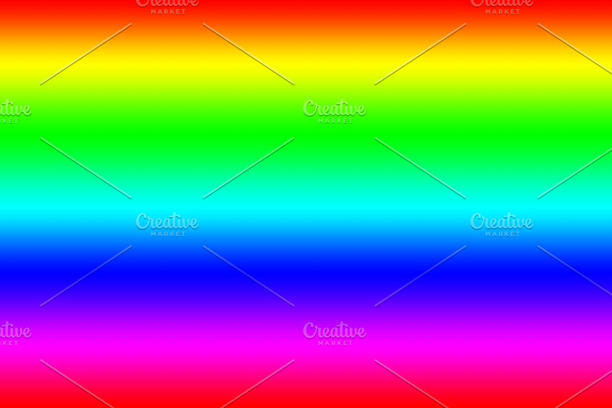 Colorful Rainbow Abstract Pattern Te