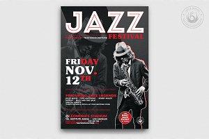 Jazz Festival Flyer Template V3