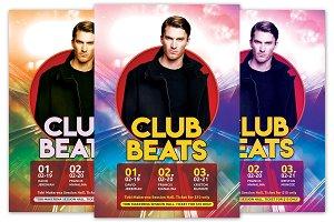 Club Beats Flyer