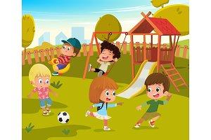 Baby Playground Summer Park