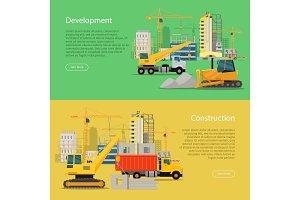 Construction Development Banner
