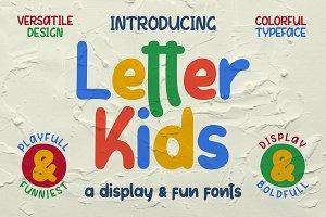 Letter Kids [35% OFF]