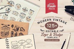 Modern Vintage Logopack (+EXTRAS)