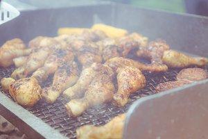 BBQ on Grills