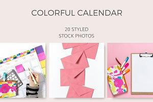 Colorful Calendar (20 Images)