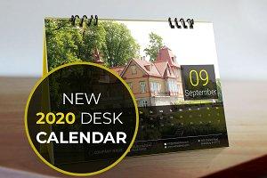 Calendar for 2020 | Desk Calendar