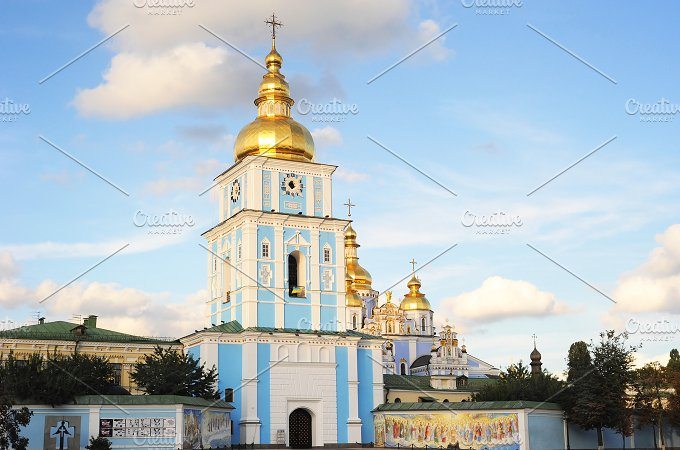 St.Michael's Monastery.Kiyv, Ukraine - Architecture