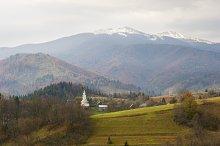 Carpathian village, Ukraine
