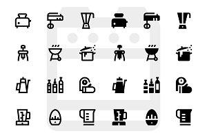 80 Kitchen icons