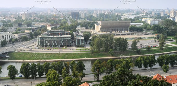 Modern part of Vilnius. Lithuania - Architecture