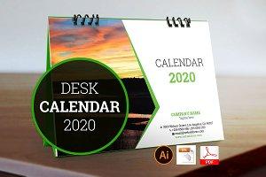 Desk Calendar for 2020 V_2