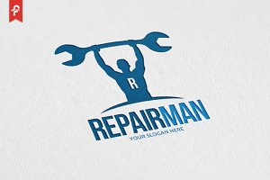 Repair Man Logo