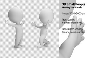 3D Small People - Meeting