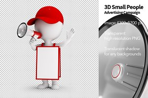 3D Small People - Advertising