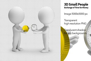 3D Small People - Exchange