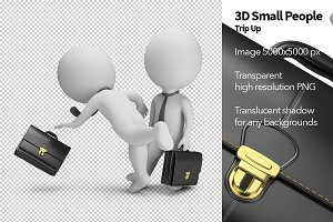 3D Small People - Trip Up