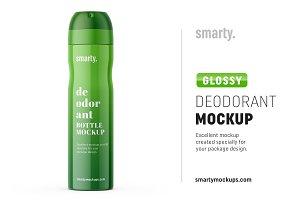 Deodorant mockup / glossy