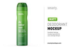 Deodorant mockup / matt