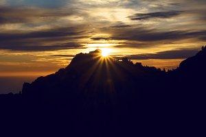 Sunset gleam