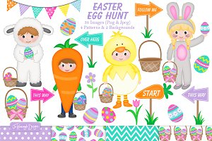 Easter Clipart Set - C32