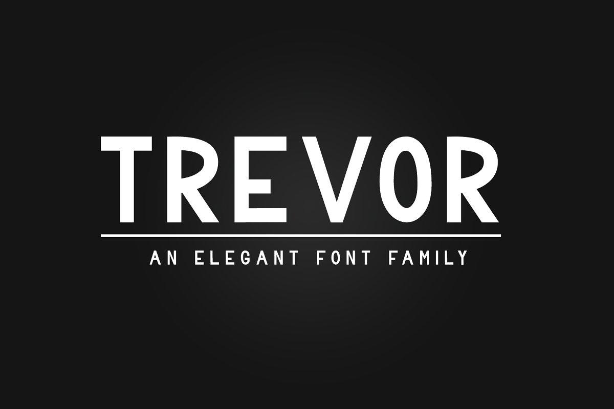 Trevor - Elegant Font Family
