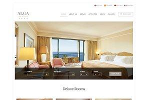 Alga - Hotel, Resort & Spa WordPress