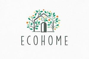 Ecohome Logo Template